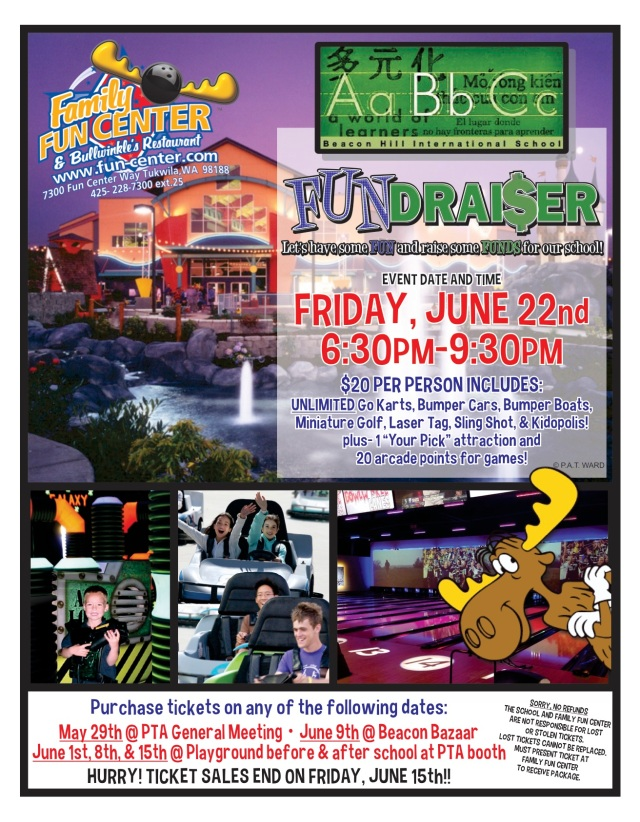 FUNdraiser-Beacon Hill Int School 6.22.18